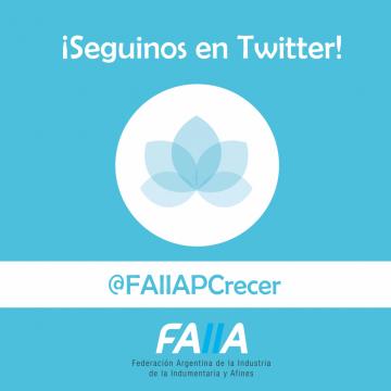 ¡Seguinos en Twitter! | @FAIIAPCrecer