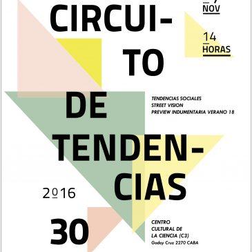 Única edición Circuito de Tendencias Nº 30 – VERANO 17/18 FAIIA – INTI TEXTILES