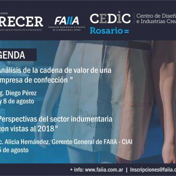 El Programa Crecer participa de la agenda de actividades de CEDIC – Rosario