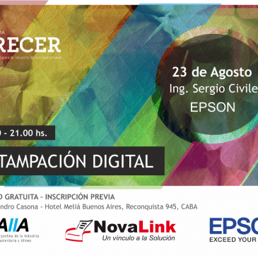 EPSON – Estampación Digital