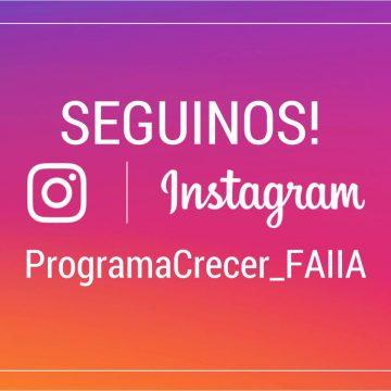 ¡Seguinos en Instagram!