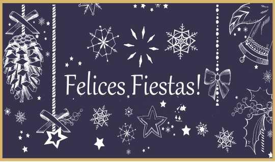 ¡Les deseamos muy Felices Fiestas!