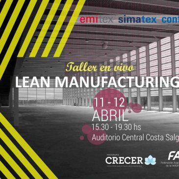 EMITEX 2018: Taller en vivo de Lean Manufacturing